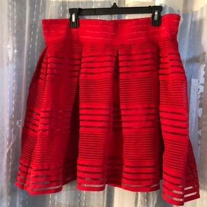 Torrid Red Skirt - Fully lined